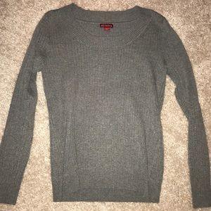 Merona gray crew neck sweater